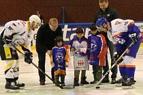 Slavnostní úvod mělo víkendové utkání 26. kola hokejové WSM Ligy mezi Litoměřicemi a Kadaní