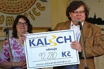 Benefiční koncert kapely Spiritual kvintet pořádal nadační fond Kalich