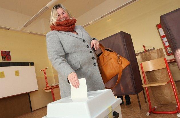 II. kolo prezidentských voleb v Litoměřicích