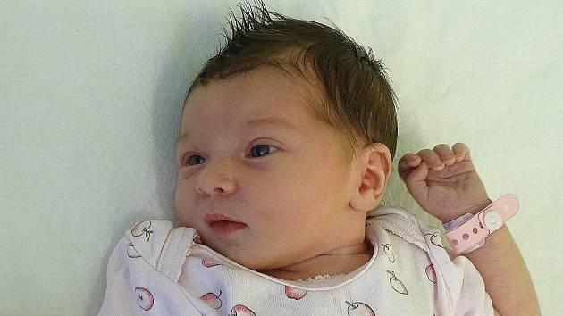 Adéla Hrubá se narodila Janě Belzové a Lukáši Hrubému z Velemína 26. srpna v 18.06 hodin v Litoměřicích (51 cm a 3,37 kg).