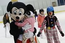 Ledový karneval na stadionu v Lovosicích