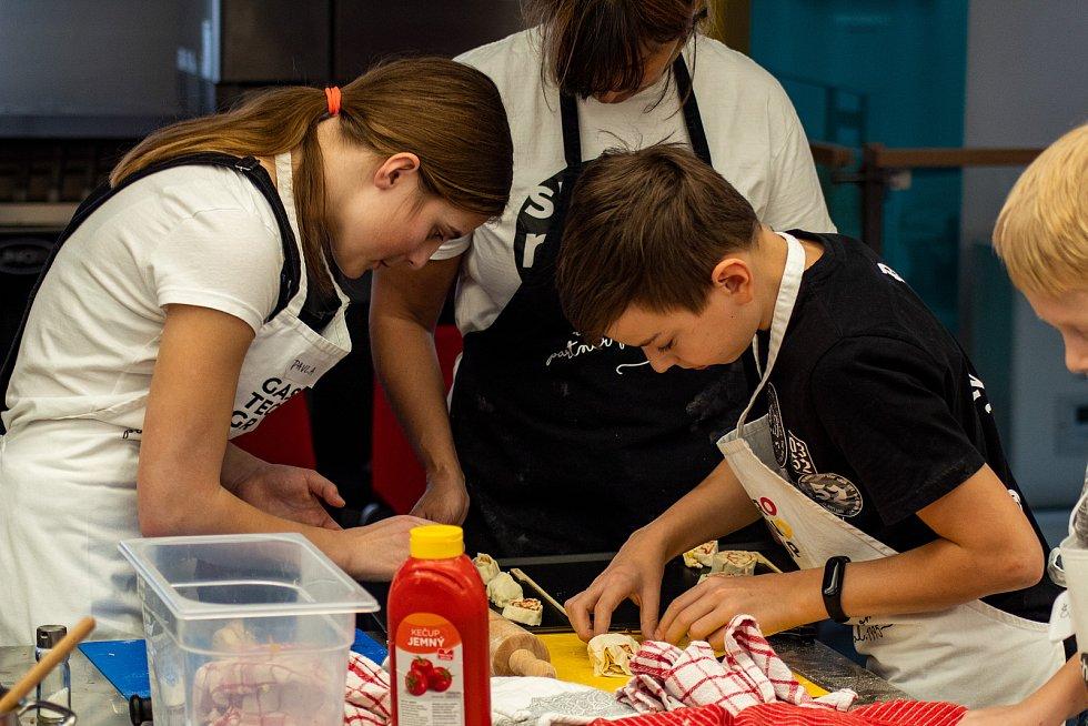 Kurzy vaření pro děti pořádají v Ústí.