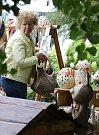 Zámek v Ploskovicích ovládli tvůrci keramiky