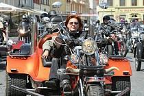 Tempo 2009 - Spanilá jízda motorkářů.