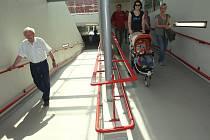 Zrekonstruovaný podchod u Besedy byl otevřen.