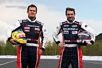 Adam Lacko (vlevo) a David Vršecký budou hájit barvy české Buggyry.