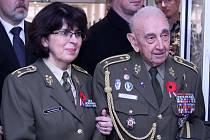 S brigádní generálkou Lenkou Šmerdovou při otevření pavilonu v ÚVN, který poskytuje komplexní péči válečným veteránům i dalším vojákům v listopadu 2019.