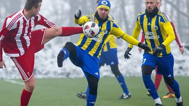 O víkendu můžete vyrazit třeba na třetiligové derby Brozany - Litoměřicko.