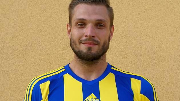 Štěpán Kacafírek v dresu FK Litoměřicko