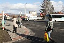 NEJVĚTŠÍ AKCÍ Lovosic v roce 2016 má být plánovaná revitalizace autobusového nádraží za 17 milionů korun.