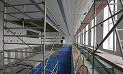 Oprava krytého plaveckého bazénu v Lovosicích