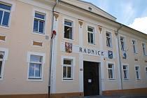 Radnice ve Štětí.