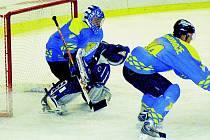 Za domácí obranou podal spolehlivý výkon gólman Martin Bílek. I díky němu si hokejisté HC Roudnice připsali po utkání se Sokolovem do druholigové tabulky alespoň bod.