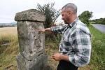 Tomáš Rotbauer se rozhodl opravit, případně znovu vystavět boží muka v okolí Třebenic