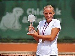 Nadějná tenistka Johana Marková.