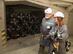 V sobotu se veřejnost může v rámci Dnů evropského dědictví seznámit se zázemím úložiště Richard v Litoměřicích. Někteří ze zájemců se vydají i do podzemí.