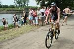 Triatlon na Dnech Ohře v Terezíně.