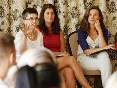 Seminář žen v politice o tom proč je v politice málo žen