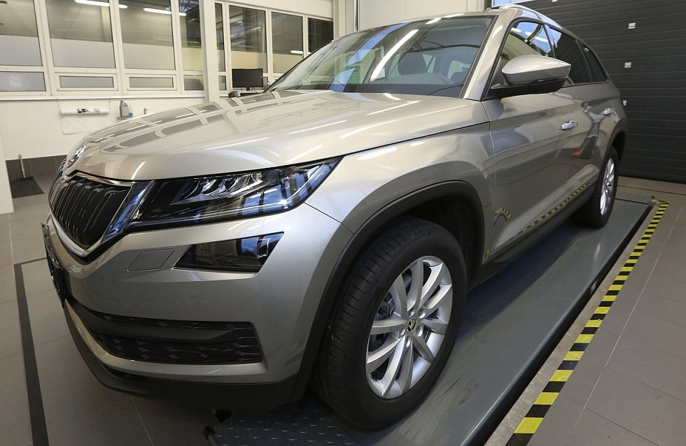 Škoda Kodiaq dorazila do Lovosic