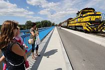 Slavnostní otevření mostu ve Štětí po generální opravě