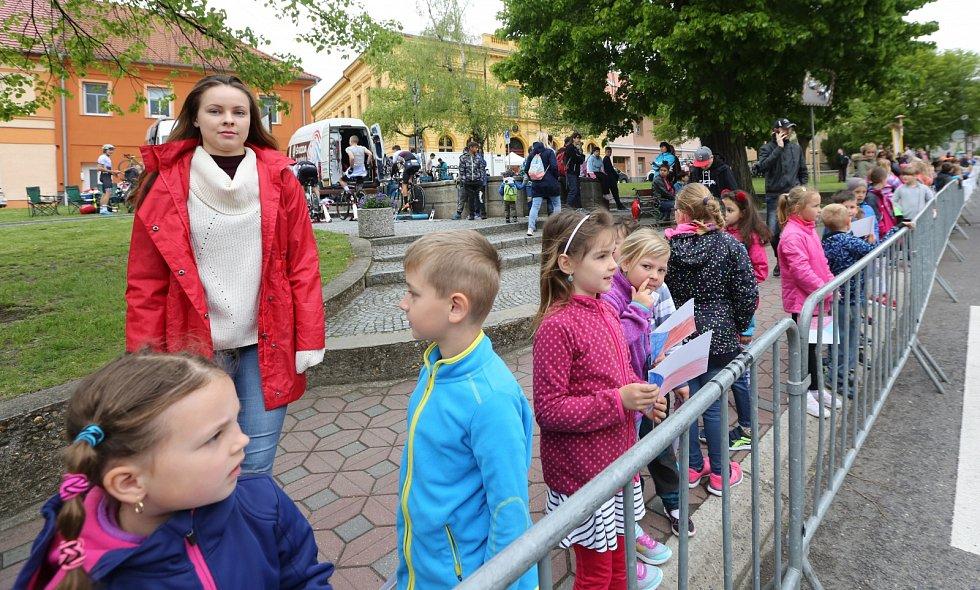 Časovka Závodu míru juniorů 2019 v okolí Třebenic