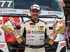 David Vršecký obhájil čínský titul.
