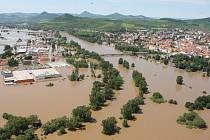 Povodeň v Litoměřicích 2013