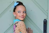 Dvanáctiletá Vanesa Anna Machová ze Štětí