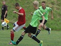 Fotbal I. B třída sk. B: Ohníč - Bohušovice.