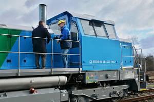 Vozový park společnosti Čepro je bohatší o lokomotivu EffiShunter 600