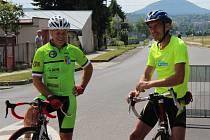 Cyklistický Memoriál Zdeňka Bambáska ve Vědomicích.