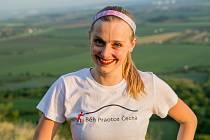 Eva Horáková z Roudnice je jednou z organizátorek Běhu Praotce Čecha na památné hoře Říp.
