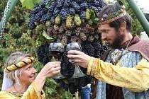 Vinobraní ve Velkých Žernosekách v roce 2019
