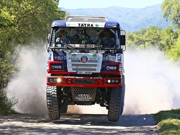 Fat boy od Buggyry se už chystá na další Dakar.