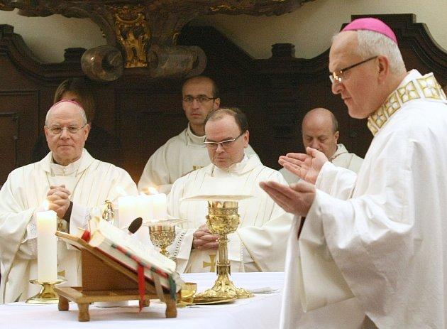 Litoměřice navštívili ve dnech 1. a 2. listopadu 2012 augsburský biskup Mons. Konrad Zdarsa a prelát Dr. Bertram Meier, kanovník katedrální kapituly v Augsburgu (Německo).