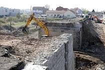 Oprava Tyršova mostu v Litoměřicích, 22.4.2015