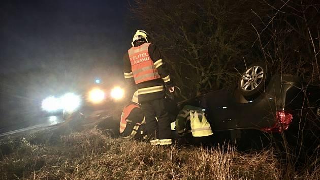 Dopravní nehoda u Hlinné