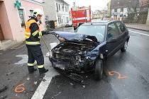 Nehoda v Liběšicích, sobota 25.12.2011.