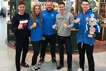 Kickboxeři Lovosic na SP v Dublinu.