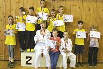 V NOVÉM BORU se mladým zástupcům Sport Judo Litoměřice dařilo.