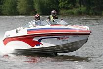Závody rekreačních člunů v Roudnici