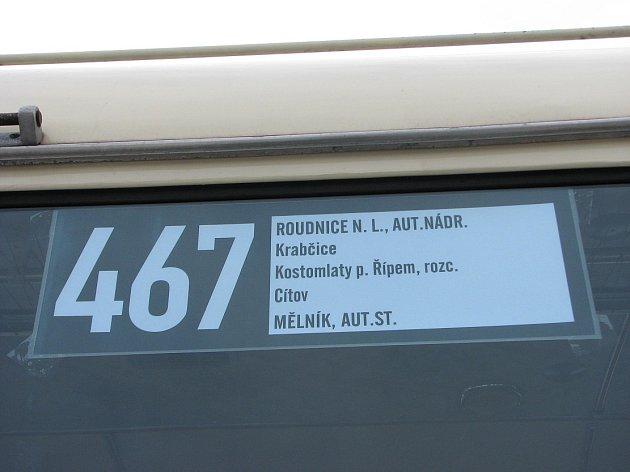 Slavnostní zahájení nového systému dopravy vRoudnici nad Labem