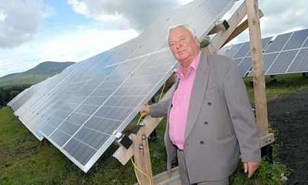 Majitel solární elektrárny Miloš Doležel