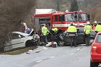 Tragická dopravní nehoda u Třeboutic