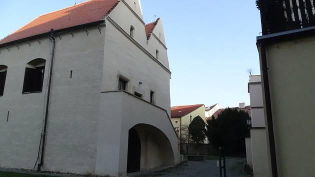 Galerie Ve Dvoře v Litoměřicích.