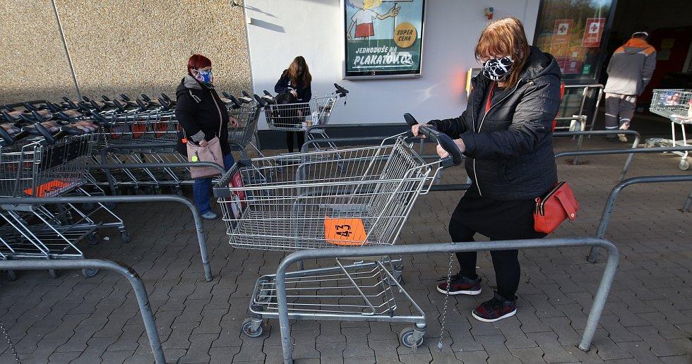 Nakupování na Litoměřicku.