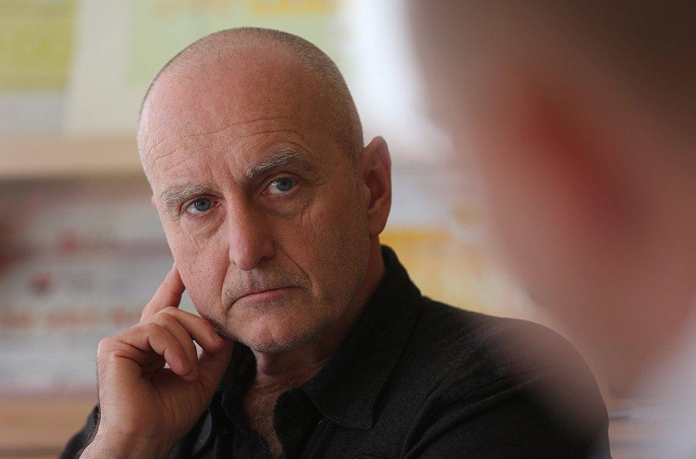 Poslanec Stanislav Berkovec v litoměřickém hospici