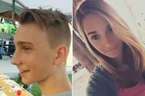 Policie pátrala po třináctileté Janě Kulhavé z Doksan a šestnáctiletém Danielu Příhodovi z Mlékojed u Litoměřic.