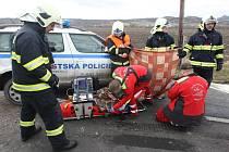 Dopravní nehoda v Třebenicích, středa 10.4.2013