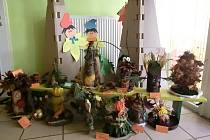 Děti z MŠ Sady pionýrů v Lovosicích soutěžily o nejhezčí strašidlo